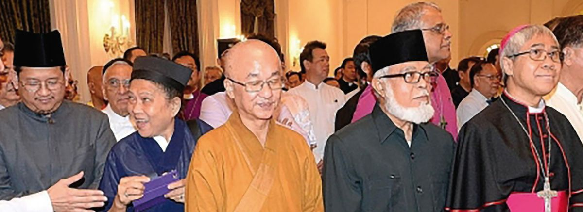 Leaders of the main faiths in Singapore. Photo © www.mfa.gov.sg.