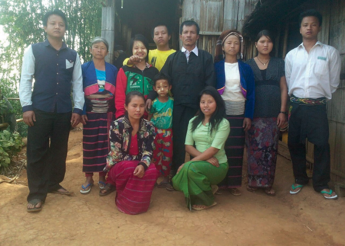 Palaung Family, Shan State, 2016
